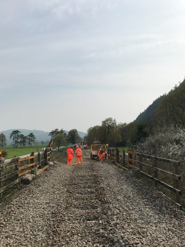 Network Rail invites Blaenau Ffestiniog residents to drop-in to find out about work to repair the Conwy Valley Line: ConwyValley-2