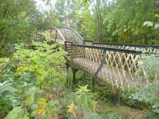 Strathbungo footbridge before