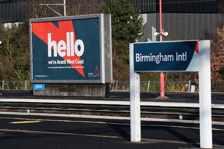 Stations we manage: Birmingham New Street Sign