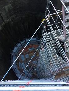 Great Northern Shaft scaffolding-2