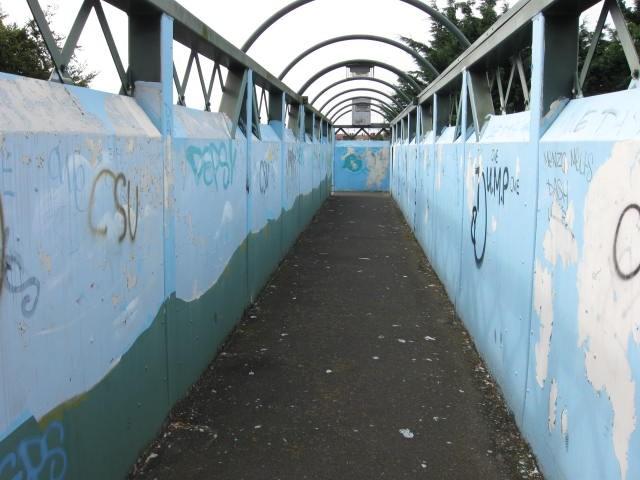 Faversham Long Bridge Graffiti 2