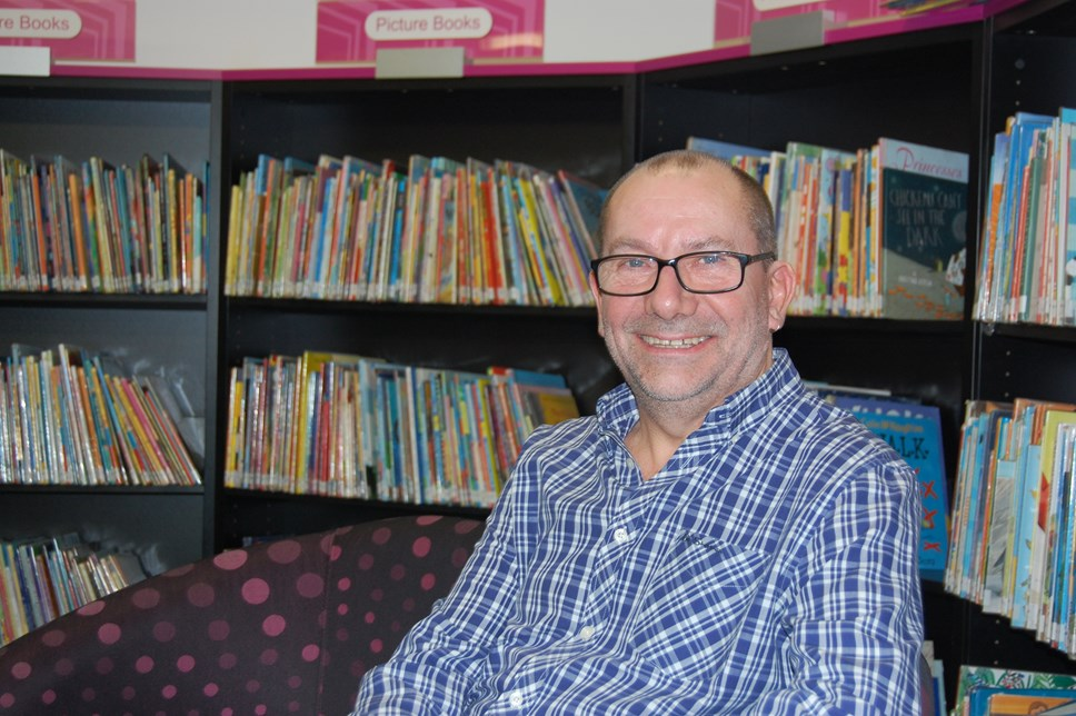 Islington library manager Tony Brown receives British Empire Medal: Tony Brown, Islington Council's library stock and reader development manager