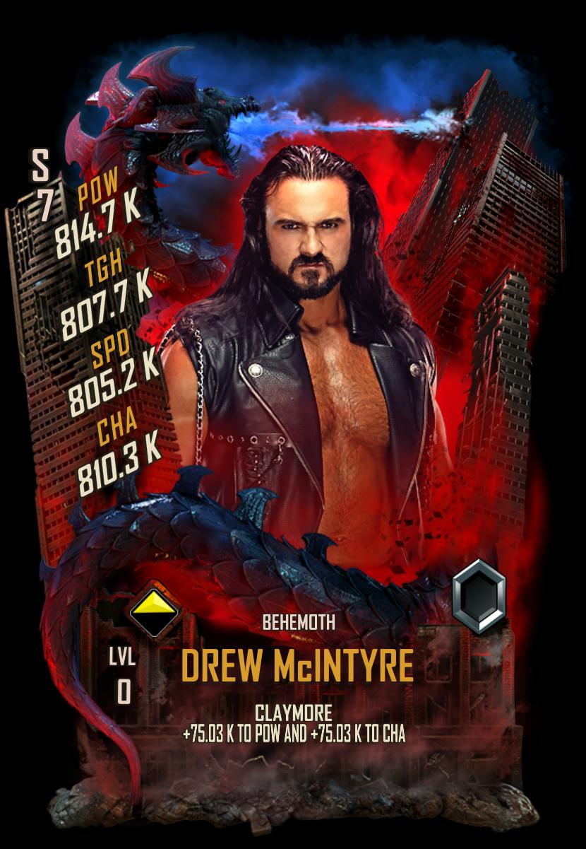 WWESC S7 Drew McIntyre Behemoth