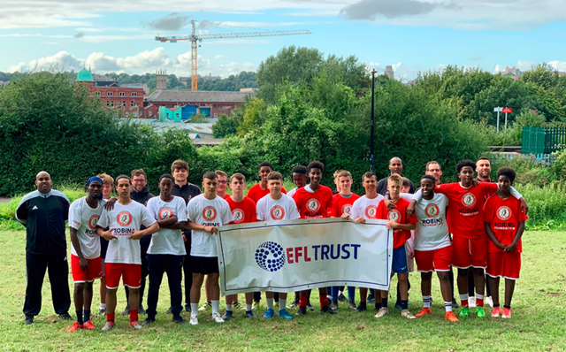 Young people from across Bristol take part in railway safety workshop and mini football tournament with the rising stars of Bristol City F.C: You vs Train BCFC