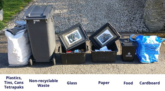 How to present your waste at the kerbside