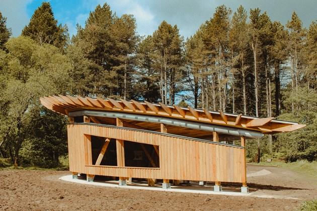 Tentsmuir Pavilion opening June 2019 - credit SNH