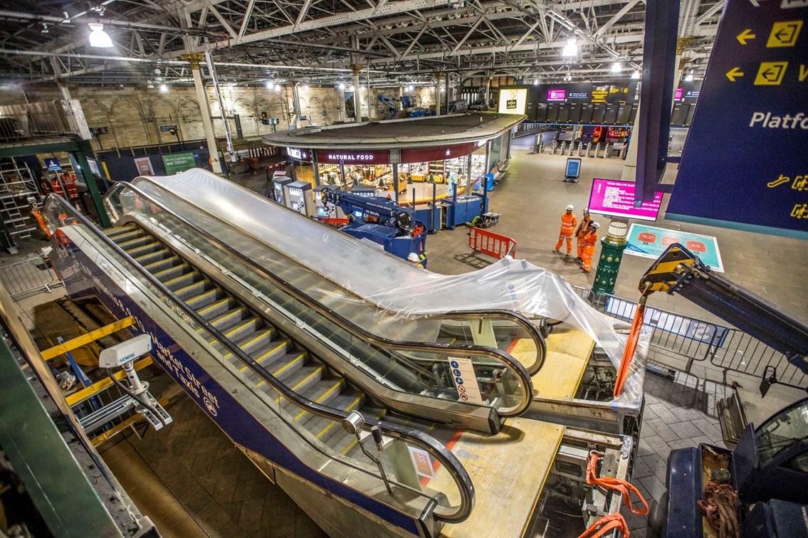 Waverley escalators