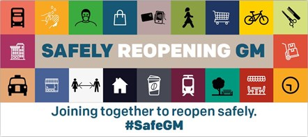 Mayor says 'safety must come first' as Greater Manchester economy reopens: SafelyReopeningGM