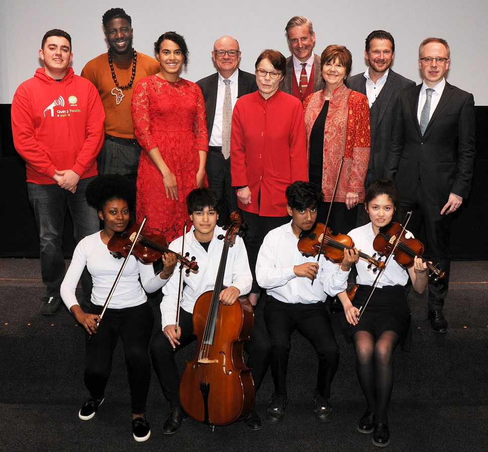 Islington Council launches pioneering partnership with Guildhall School of Music & Drama: Music Education Islington launch event 1