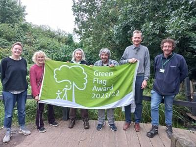Three more Islington green spaces awarded prestigious Green Flags