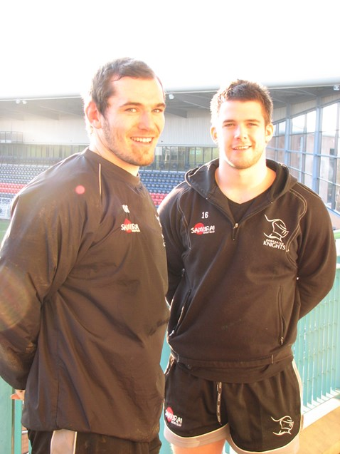 Chris Hughes and Neil Cochrane of Doncaster Knights_002