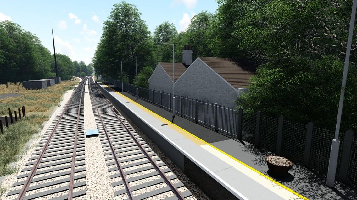 Brundalls station