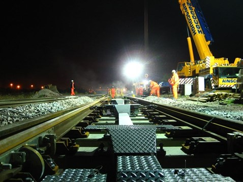 Engineers working overnight to deliver £150m improvement to South Wales