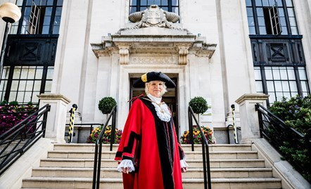 Cllr Janet Burgess, former deputy leader, becomes Islington's mayor