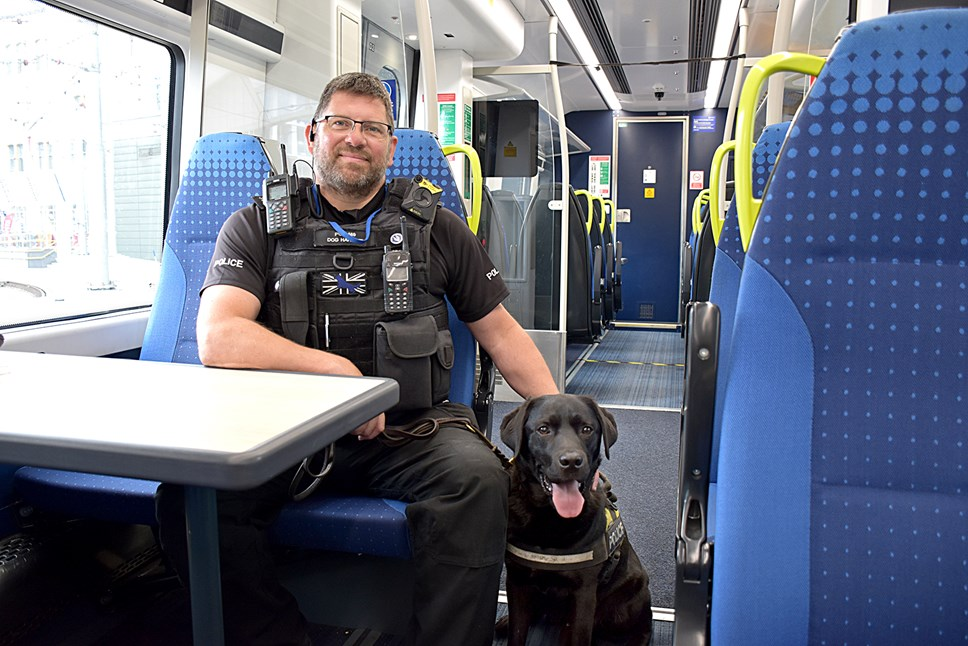 PC Phil Healy and Harry 2
