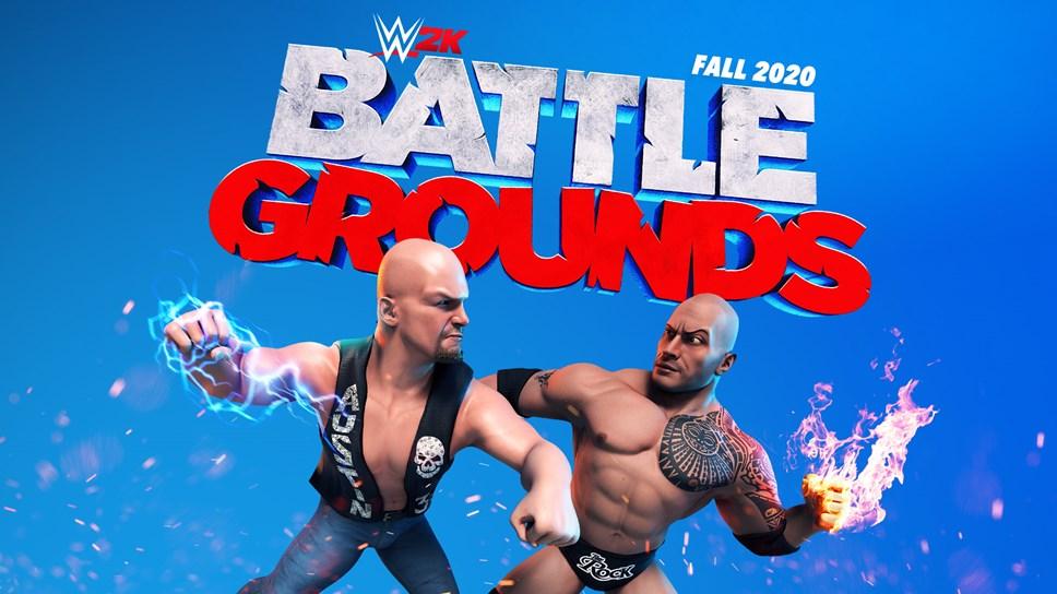 WWE® 2K Battlegrounds: WWE2K BG Art