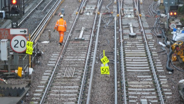 Essential engineering work completed at Slade Green, near Dartford: Slade Green S&C