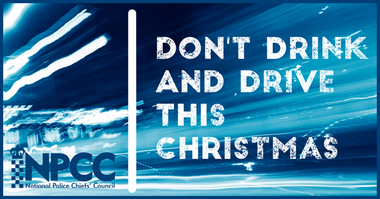 Police to crack down on drink and drug driving this Christmas