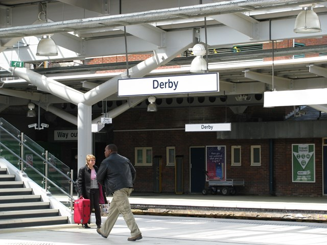 New Canopies Derby Station