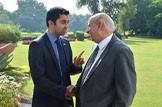 Building links with Pakistan: Humza Yousaf meets Mohammad Sarwar