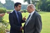 Humza Yousaf meets Mohammad Sarwar