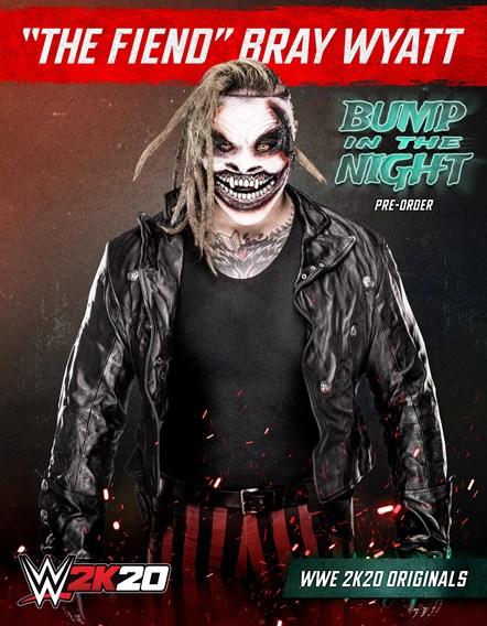 WWE2K20 Originals Bump in the Night Bray Wyatt