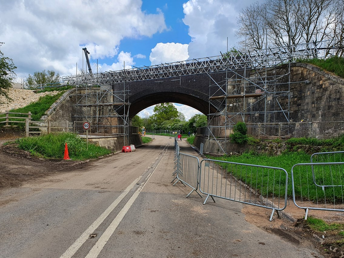Work ramps up on Manton bridge reconstruction as Network Rail approaches main stage of £2.8million upgrade: Manton bridge reconstruction project