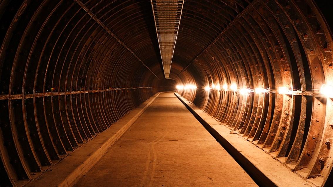 Old mail tunnel Birmingham New Street 16x9 - Credit