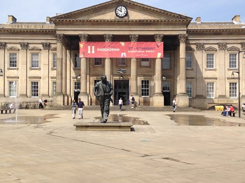 Huddersfield station will be closed on August 5 and 6 to allow vital upgrades to take place - passengers should check before you travel