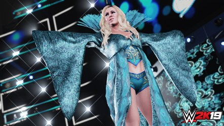 WWE2K19 Charlotte Flair