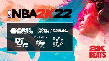 NBA 2K22 Soundtrack Labels