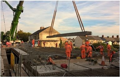 The bridge reopend 15 hours ahead of schedule at 15.05 on Sunday 3 September
