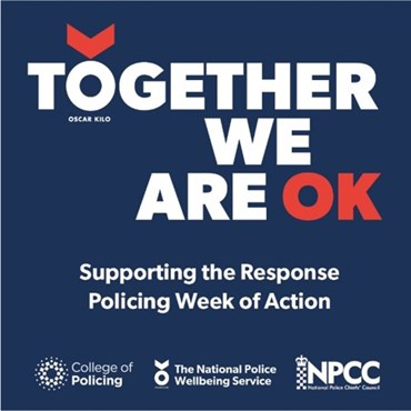 NPCC announces inaugural Response Policing Wellbeing & Recognition 'Week of Action': Picture1