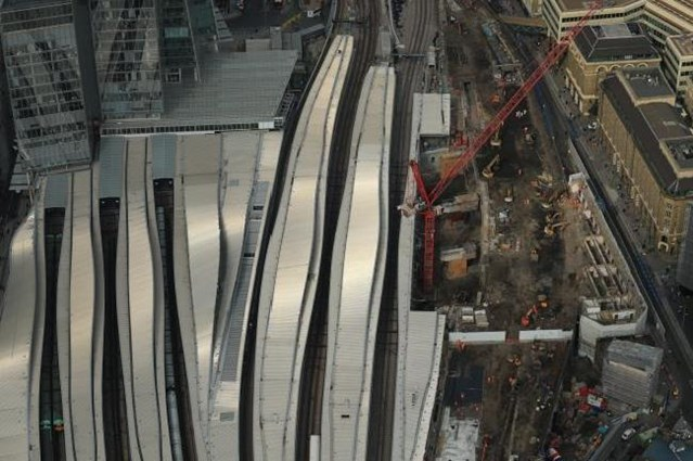 Video: 'Incredible' progress just one month into final phase of London Bridge station rebuild: AerialLB190916