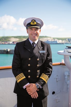 Captain Kim Tanner: Kim Tanner is one of Saga Cruises' Captains who joined the company in 2016