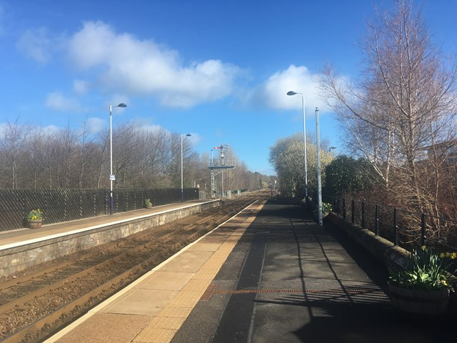 Work to extend platform at Prudhoe railway station begins this week: Prudhoe railway station