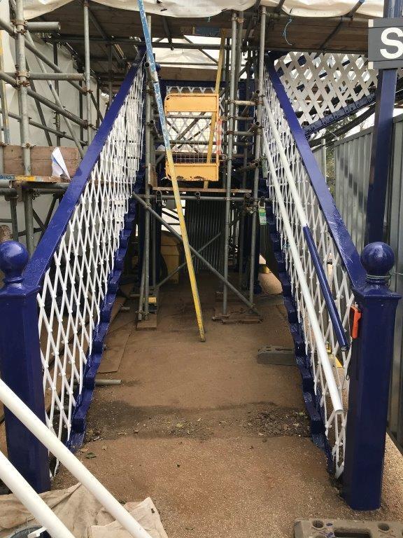 Arnside footbridge restoration