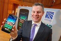 Young people at forefront of new A9 tourism app: A9TourismApp Derek Mackay ii