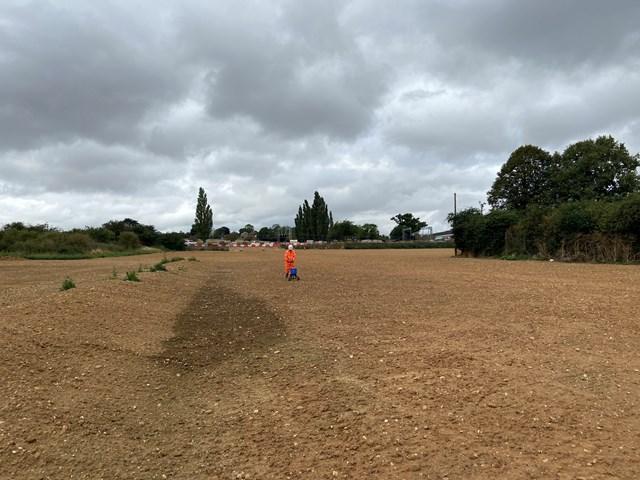 Work compound transformed into habitat site