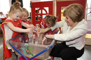 Funding for child poverty - DFM Nicola Sturgeon: From SG Flciker - http://www.flickr.com/photos/scottishgovernment/13059773705/