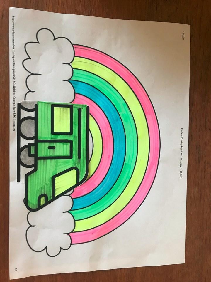An example of Railway Rainbows artwork