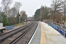 Camberley Station Platform Extensions, December 2016 (2)