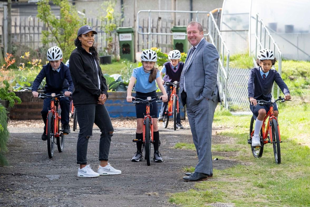 Shanaze Reade and Graeme Dey - Free Bikes