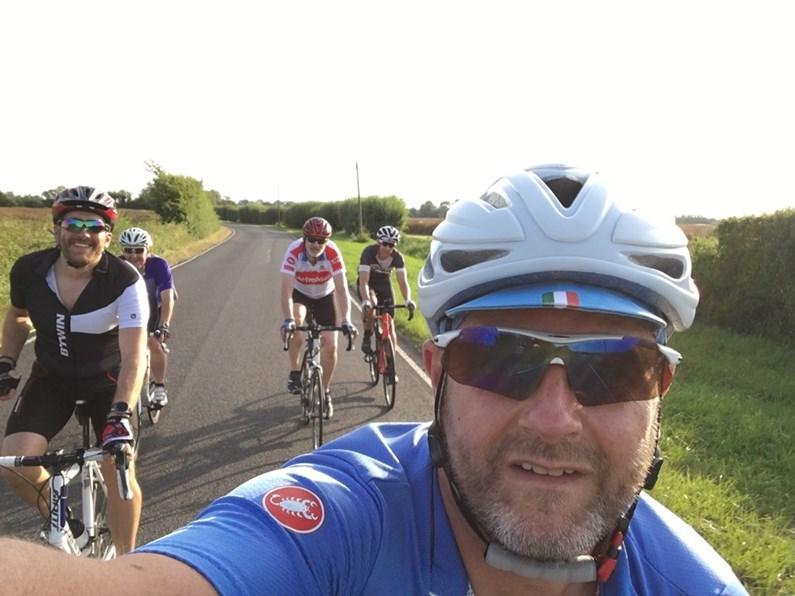 Group training ride image