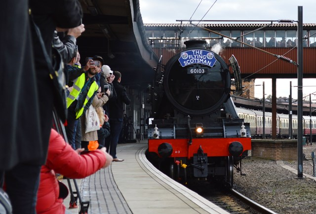 Flying Scotsman fans urged to stay safe during trips from London to Surrey and Sussex: Flying Scotsman fans urged to stay safe during trips from London to Surrey and Sussex: Flying Scotsman