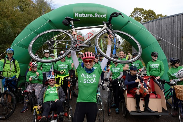 CEO's 1300-mile epic cycle concludes in Inverness: CycleForNature-D9130