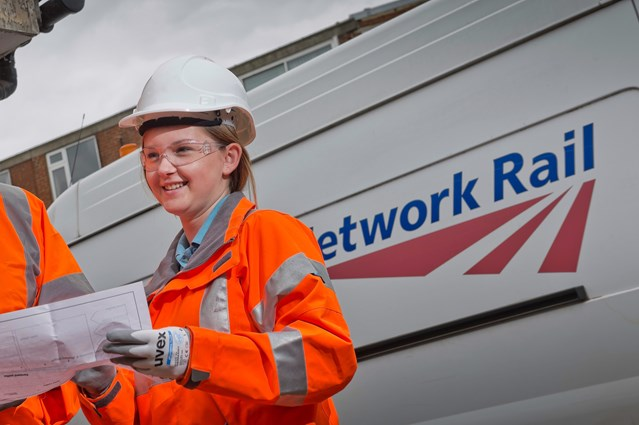 Apprenticeship boost as Network Rail doubles the number of opportunities available: Marisa Bajerski