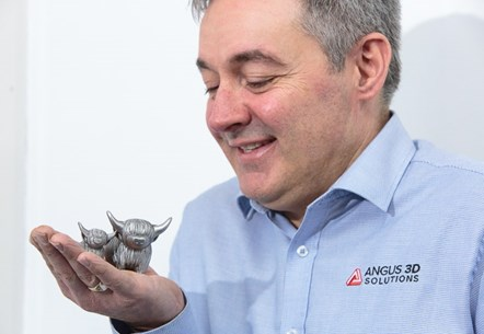 Scottish Enterprise grant aids Angus 3D's three-year growth plan: Angus 3D