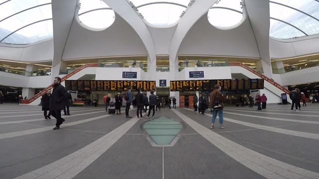 Birmingham New Street Concourse February 2019