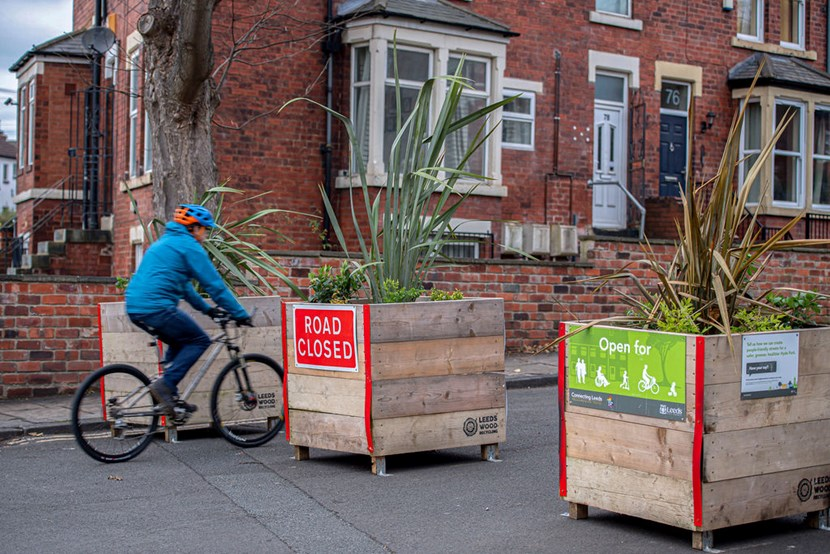 Changes to the Hyde Park Active Travel Neighbourhood: Planters on Chapel Lane, Leeds